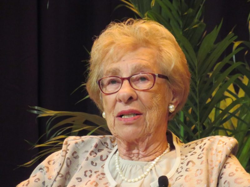 Eva Schloss, a holocaust survivor and stepsister to Anne Frank will be speaking at Trinity University on March 19th.