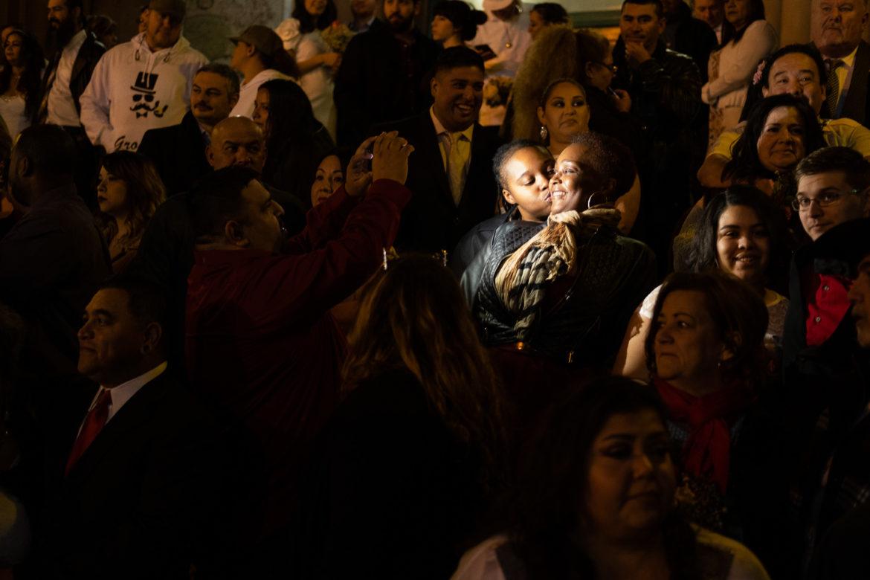 Scottball Valentines Day Mass Wedding Ceremony Midnight Bexar County Courthouse 2 14 2019 2 San Antonio Report