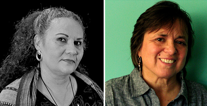 (From left) Denise Chávez and Cherríe Moraga will speak at the Chicana Theater: Past and Present symposium.