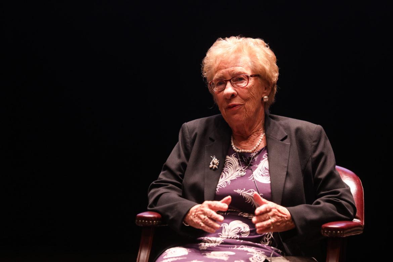 Eva Schloss.
