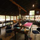 The studio space inside Las Almas.