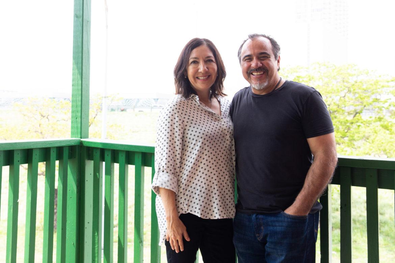 Owners of the Hammond Building Mario and Sandra Serrano.