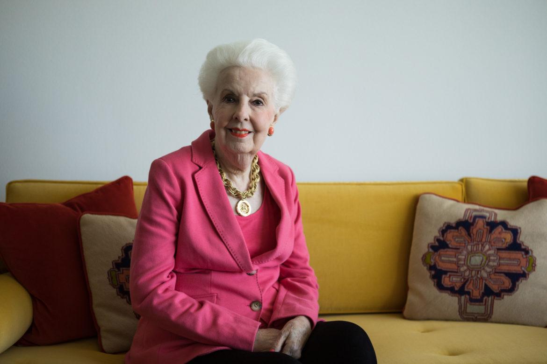 Margaret King Stanley in her home.
