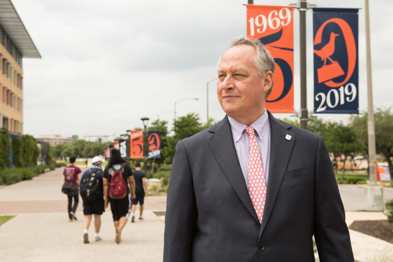 UTSA President Taylor Eighmy