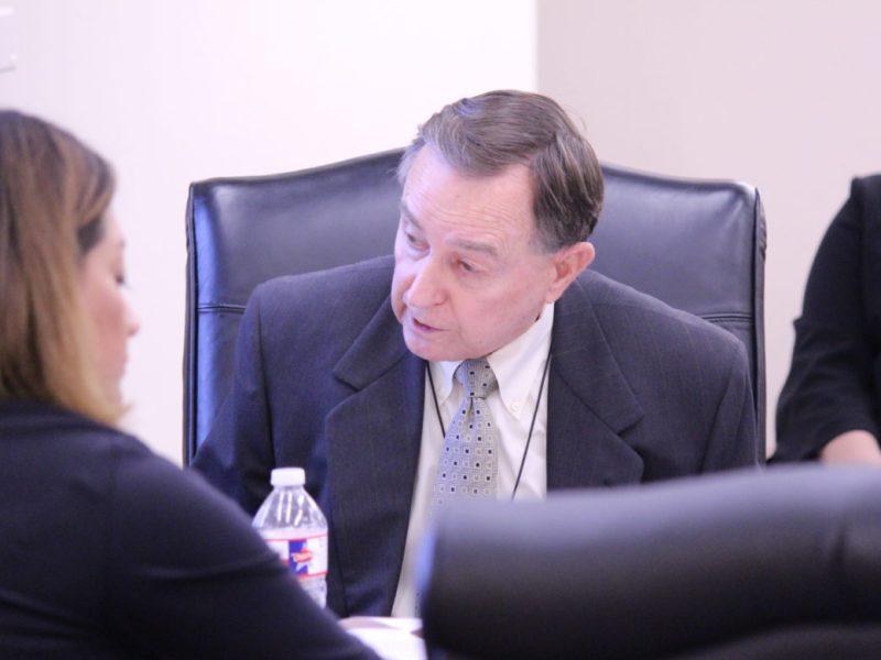 CPS Energy board of trustees member Ed Kelley.