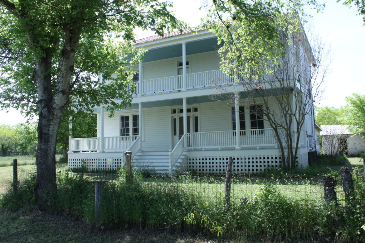 The Presnall Watson homestead has been preserved through grant funding and hard work.
