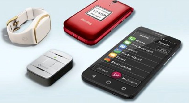 A collection of products from GreatCall.