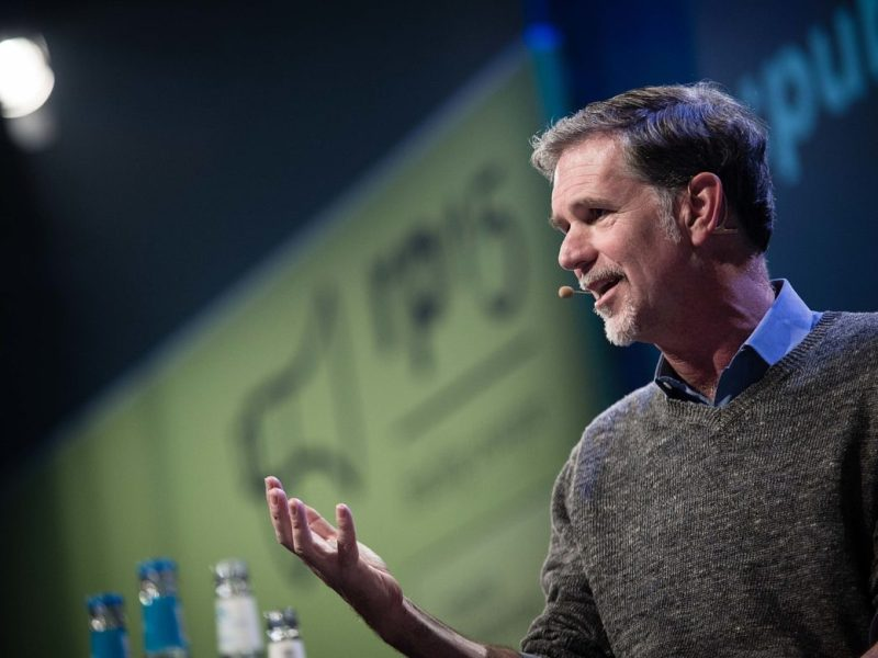 Netflix co-founder and CEO Reed Hastings.