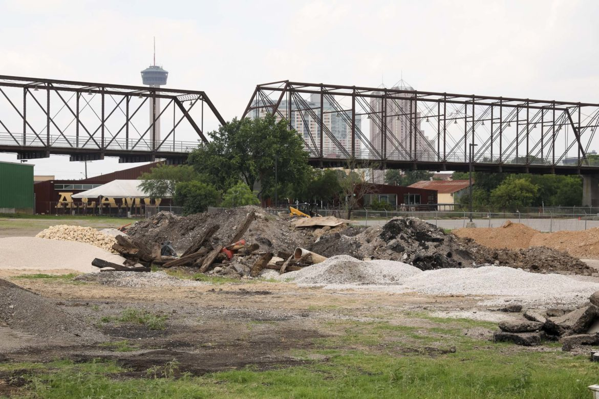 The property adjacent to the Hays Street Bridge could end in a land swap agreement between developer Mitch Meyer and the City of San Antonio.