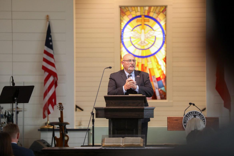 Sutherland Springs First Baptist Church Pastor Frank Pomeroy.