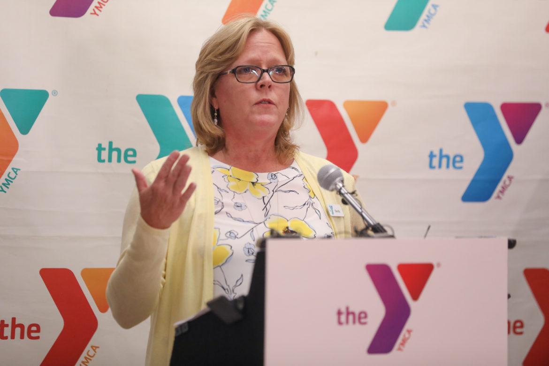 YMCA of San Antonio President and CEO Sandy Morander