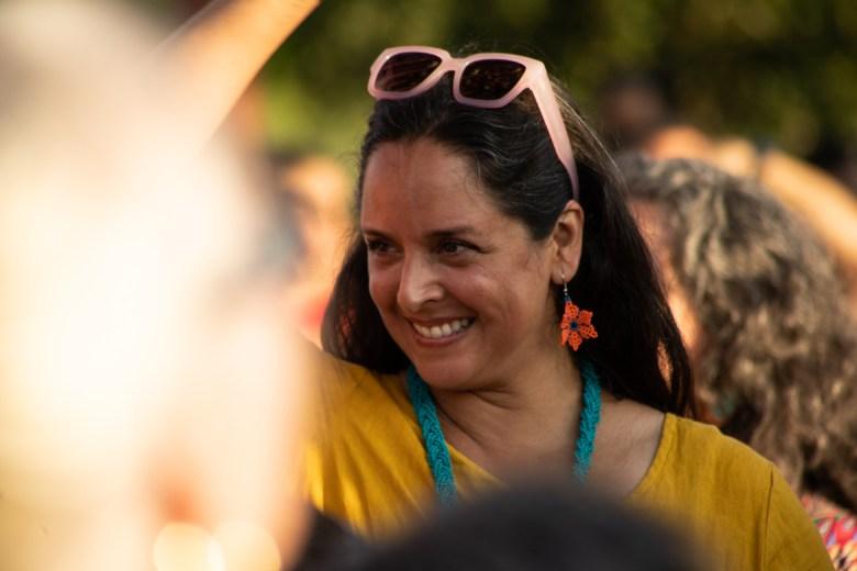 Lead artist Margarita Cabrera