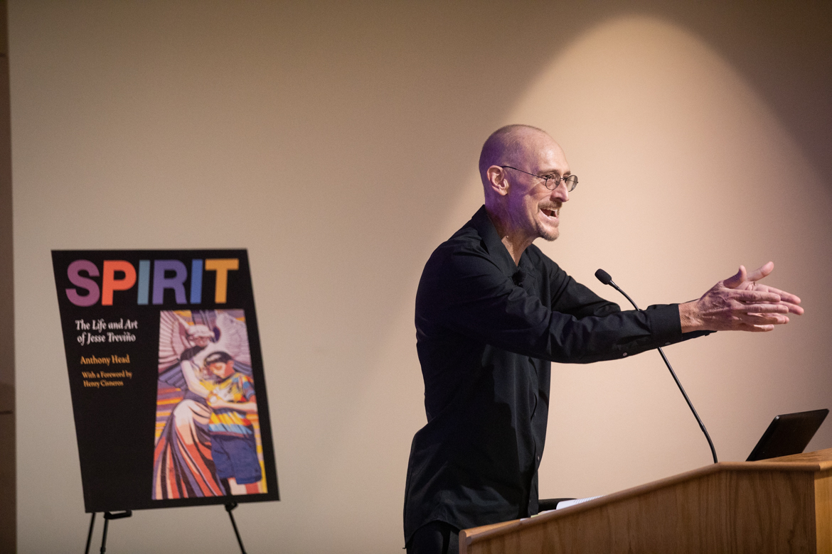 Anthony Head, author of Spirit: The Life and Art of Jesse Treviño