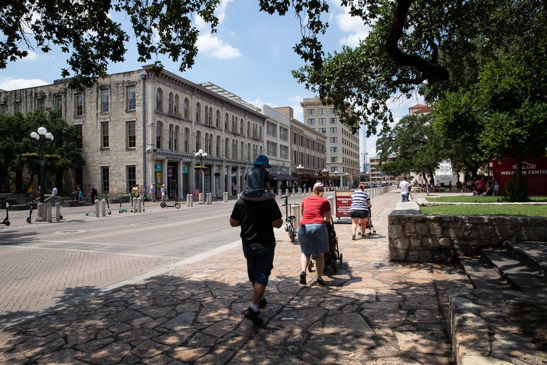 Alamo Plaza on June 13, 2019