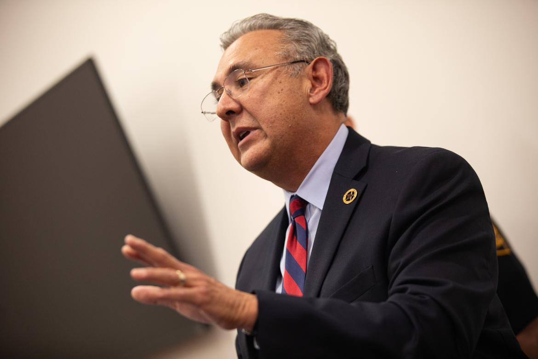 District Attorney Joe Gonzales