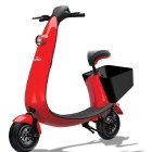 An OjO electric scooter