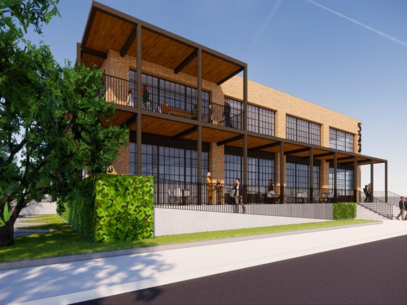 The future home of Viva Beer and Offenhauser & Co insurance.