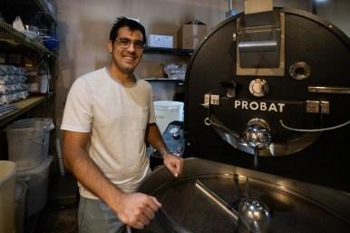 White Elephant Coffee Company owner Jose Carlos De La Colina