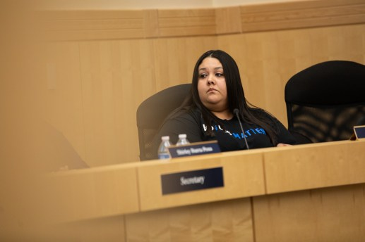 Mandy Martinez resigns from the board.