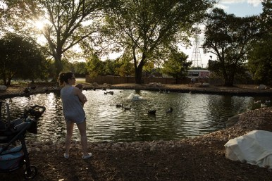 The new Eden Duck Pond turns a chapter in the Eden subdivision.