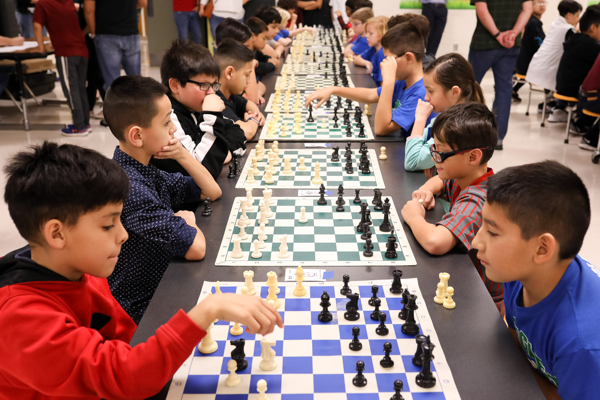 Strategy Reigns Supreme as Young Chess Players Test Their Tournament Skills
