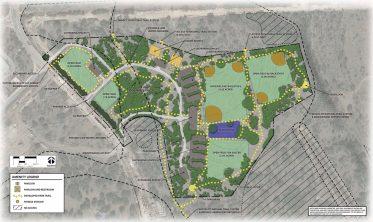 The developed Classen-Steubing Ranch Park concept