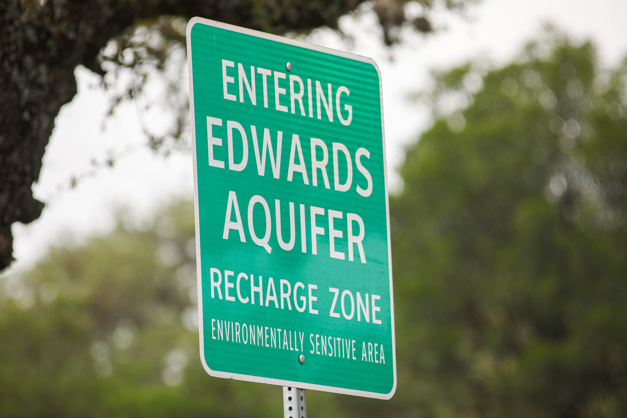 The Edwards Aquifer spans multiple counties and provides water to more than 2 million people.