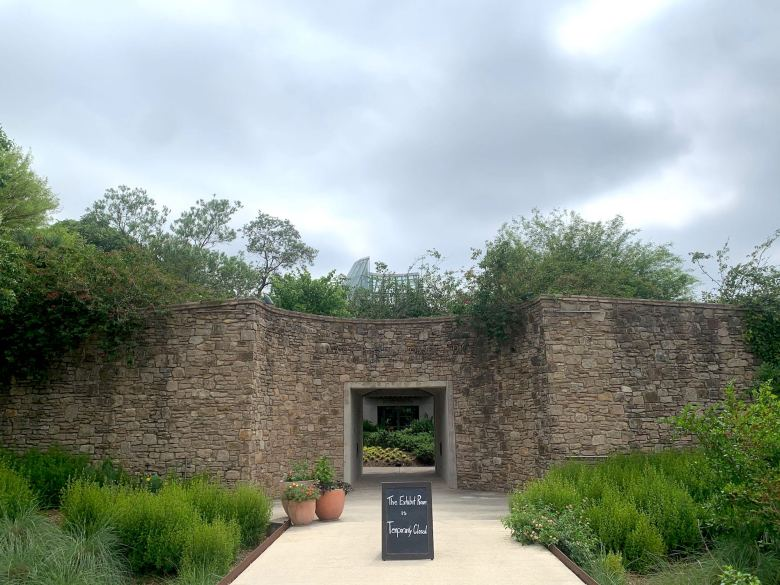 Most buildings at the San Antonio Botanical Garden remain closed as they do not allow visitors to maintain social distance.