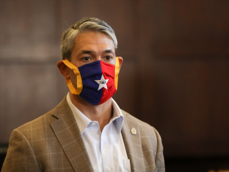 Mayor Ron Nirenberg on Thursday said ending the statewide order requiring the use of masks in public spaces would be a mistake.