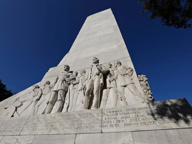The Texas Historical Commission voted 12-2 last week to prevent the planned relocation of the Cenotaph in Alamo Plaza.