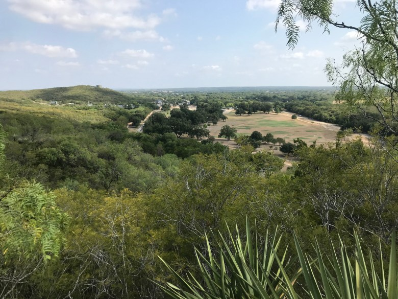 A view of Castroville Regional Park from the Determination Trail.