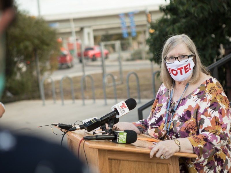 Bexar County Election Administrator Jacque Callanen on Friday said that hundreds of local election workers would get free testing for the coronavirus.