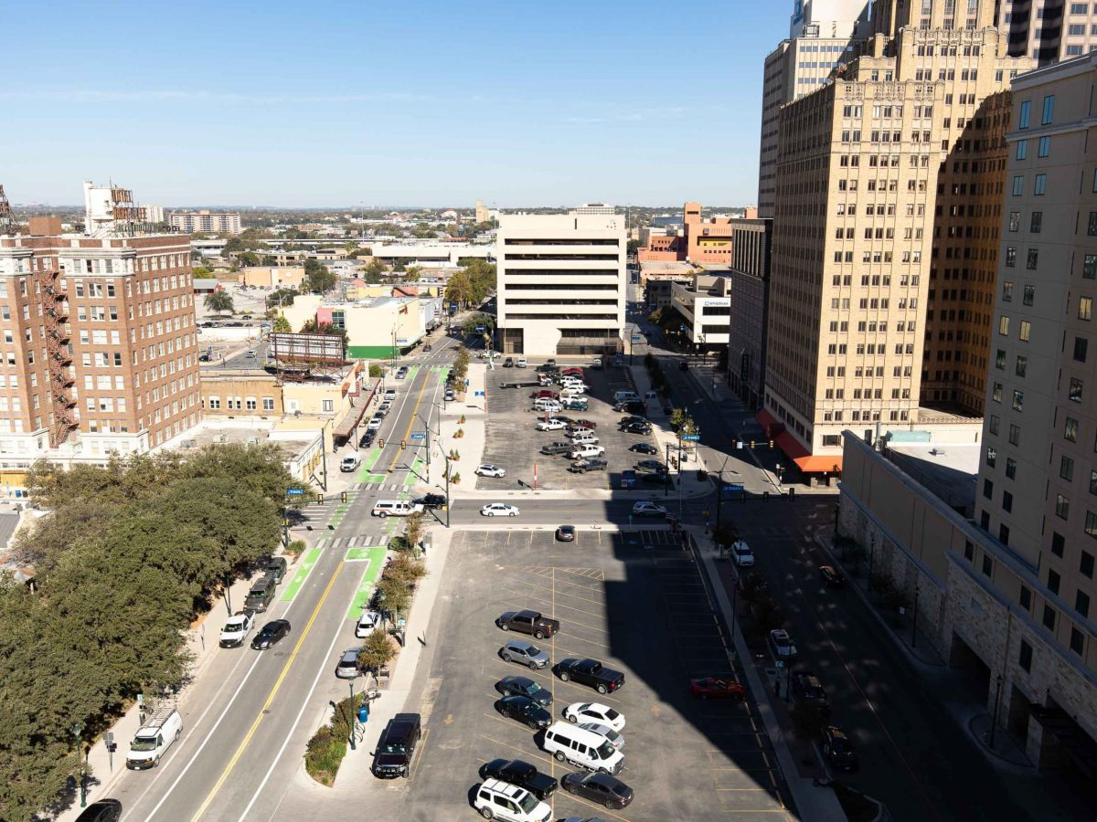 Developer Weston Urban plans to build a residential tower where a surface parking lot sits in the tech district.