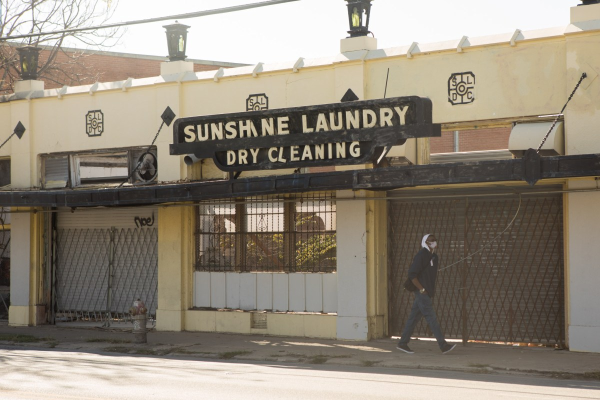Weston Urban project to redevelop Sunshine Laundry site. Photos taken on December 2, 2020.
