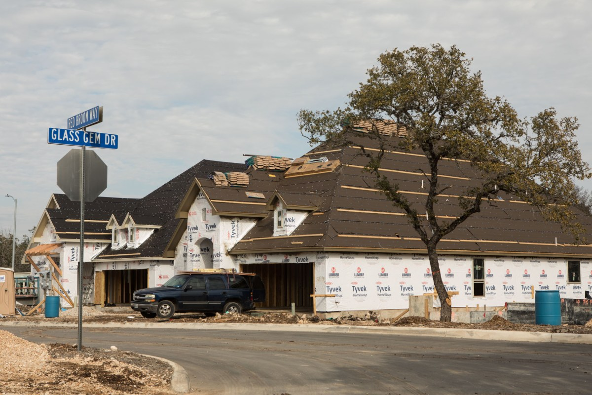 The Agave Trace neighborhood on the northwest side of San Antonio is representative of the housing boom discussed by Urban Land Institute. Photos taken on January 12, 2021.