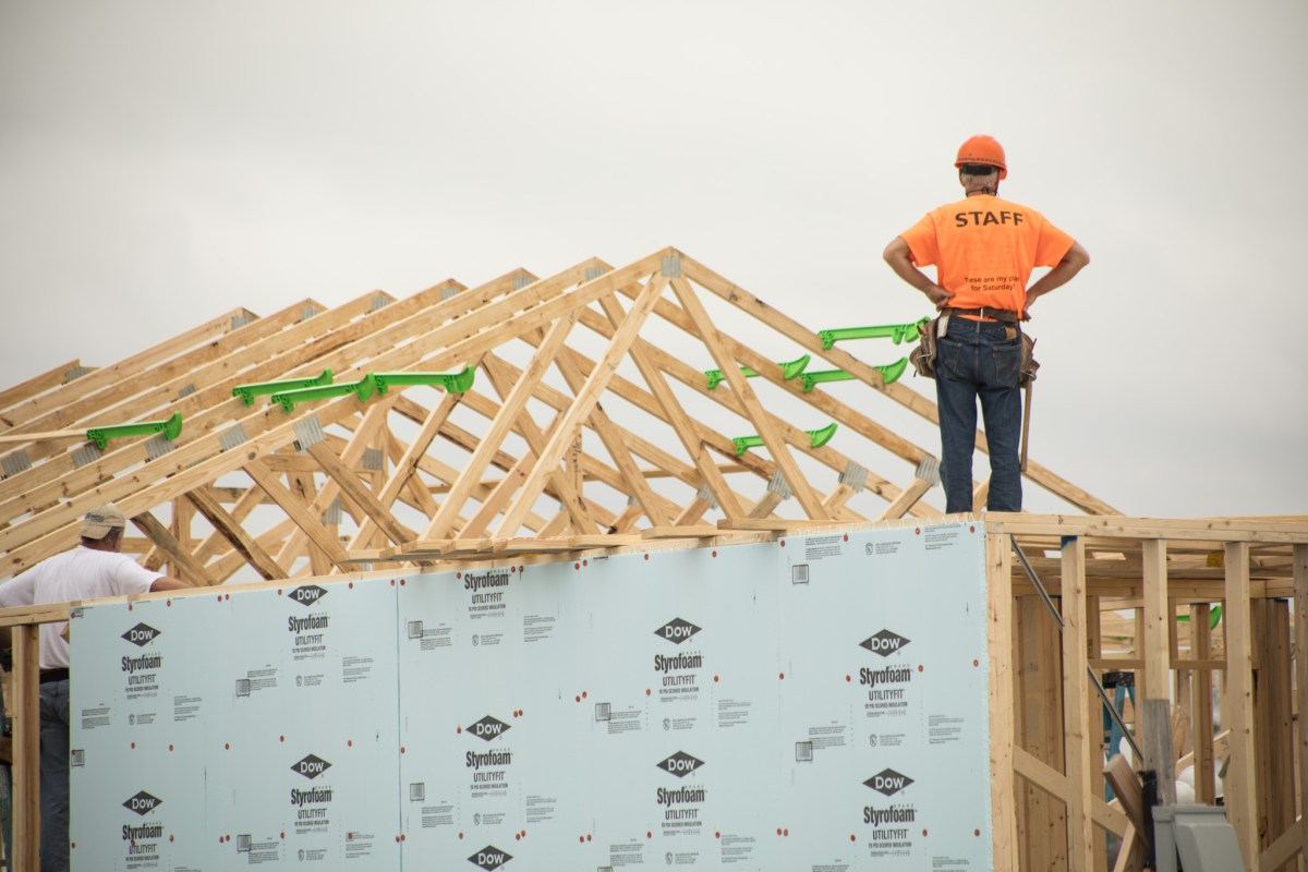 Families of frontline workers in need of a safe and decent place to call home are building their permanent homes in Habitat for Humanity of San Antonio's newest community, Rancho Carlota. Photos taken on January 30, 2021.