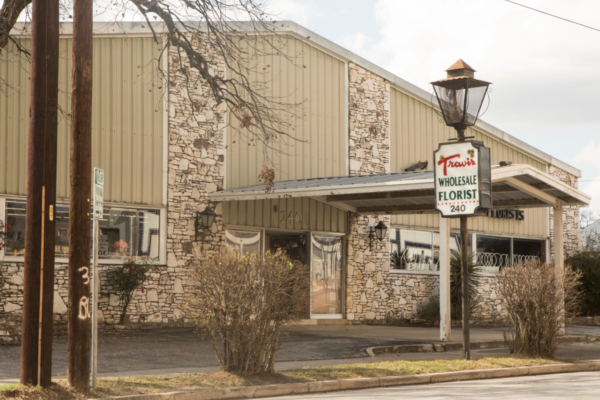 Lots in Pearl area are held by Travis Wholesale Florist owner. Photos taken on January 6, 2021.