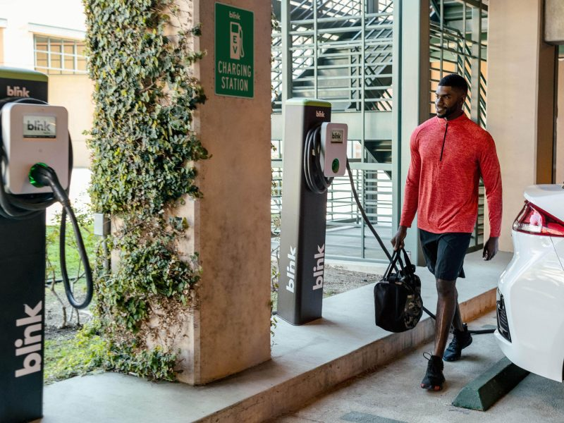 Blink Charging was given a contract by the City of San Antonio, which would initially add up to 140 Blink-owned charging ports and three fast-charging stations throughout the city.