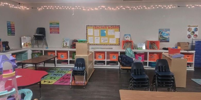 The World of Knowledge Early Learning Center on the Northwest Side used its grant to replace its furniture, pictured here, as well as to purchase a new curriculum.