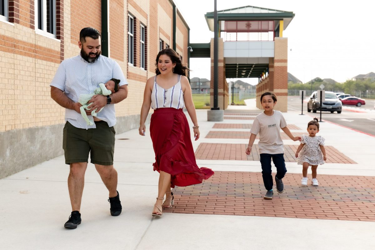 Amanda Alonzo and Ryan Ibarra's son, Matthew, attends Dr. Caroline Wernli Elementary School, which was opened in 2020 and dedicated on March 18, 2021.