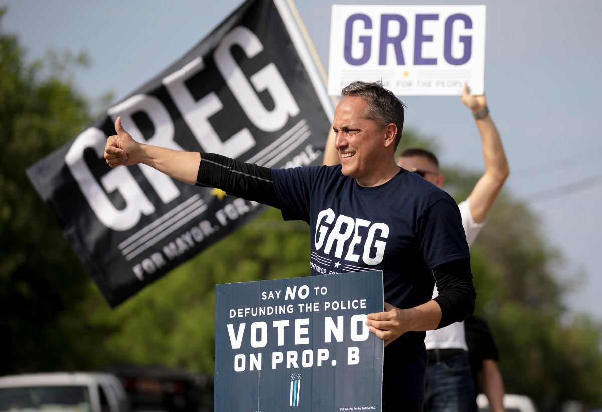 Garnering just 31% of the vote, mayoral candidate Greg Brockhouse lost to incumbent Ron Nirenberg on Saturday.