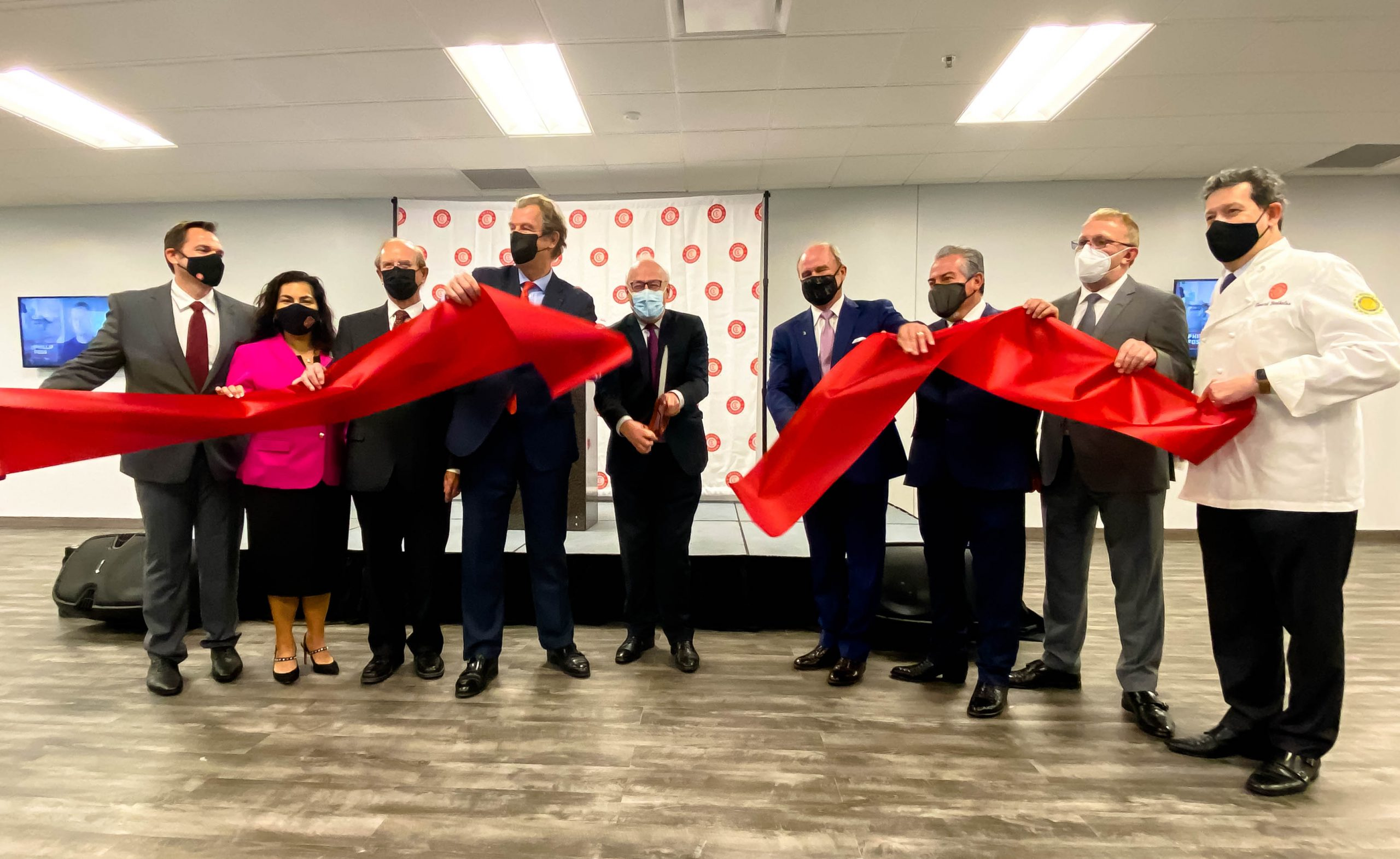 Ceremonial opening of Cuisine Solutions' massive sous vide plant draws French ambassador