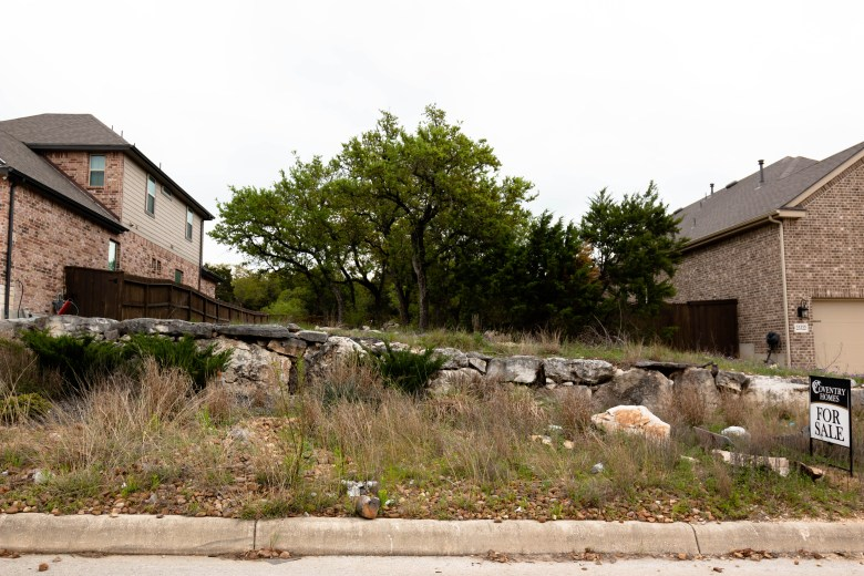 Coventry Homes is selling a lot in a new neighborhood in North East San Antonio, called Coronado.