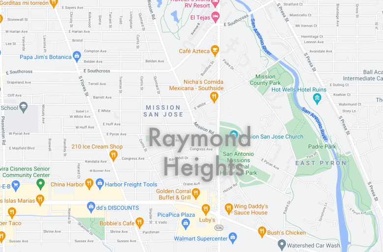 Jerry and Danny Lamb Esquivel moved into Raymond Heights three years ago.