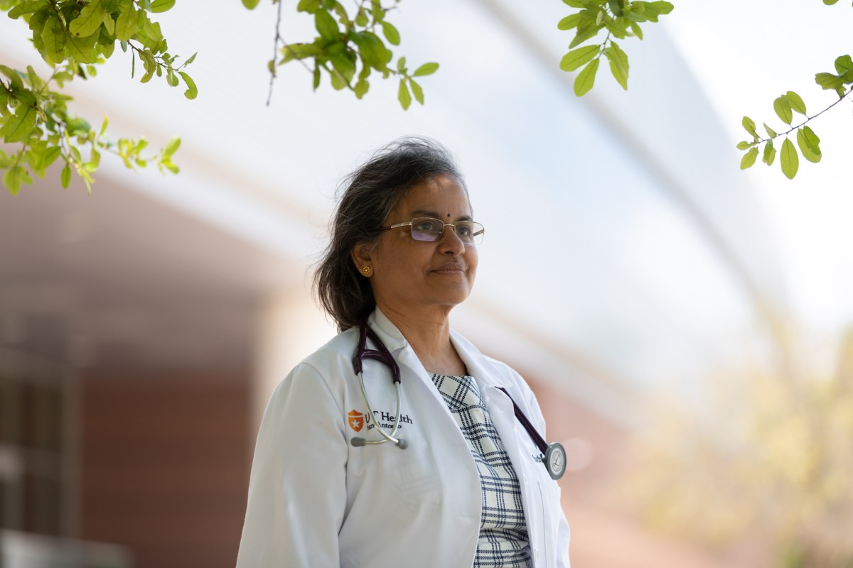 Dr. Sudha Seshardi leads UT Health San Antonio's Glenn Biggs Institute for Alzheimer's and Neurodegenerative Diseases.