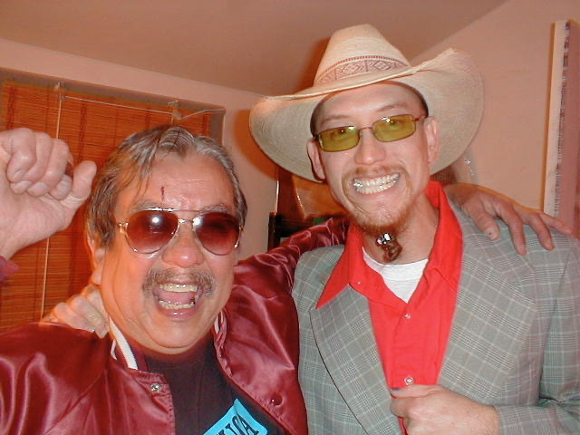 "Ram Ayala and Wayne ""Odie"" Cole."