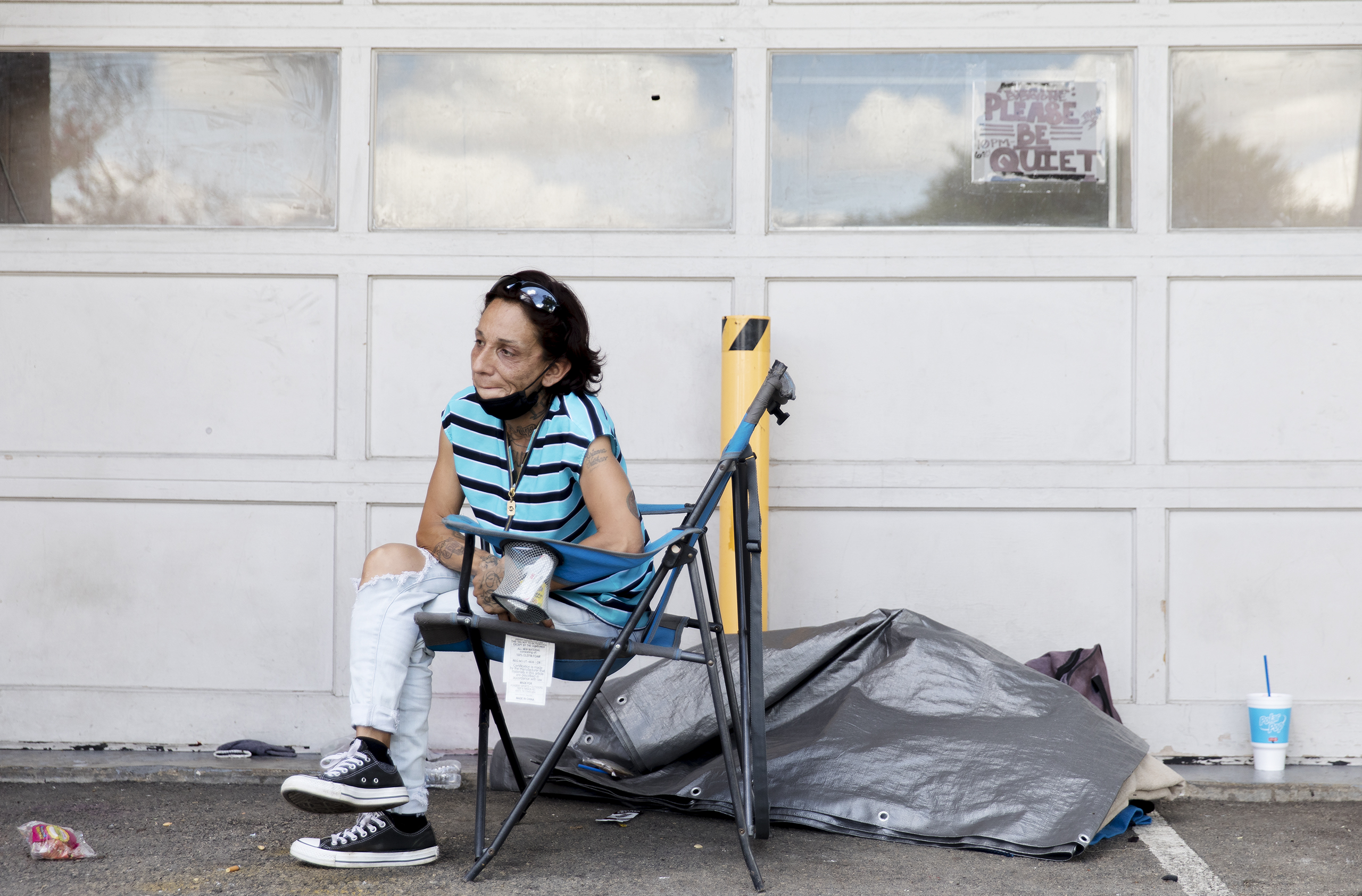 As District 1 field office changes hands, fate of homeless encampment uncertain
