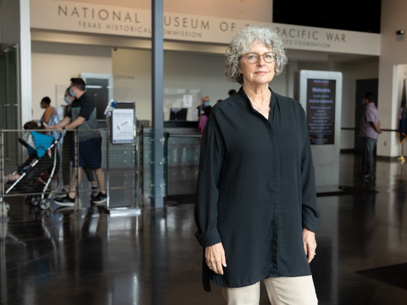 Karen Stevenson is the new director for the National Museum of the Pacific War.