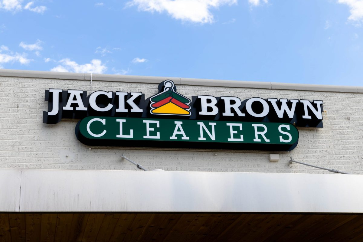 Slater White Cleaners is now Jack Brown Cleaners.