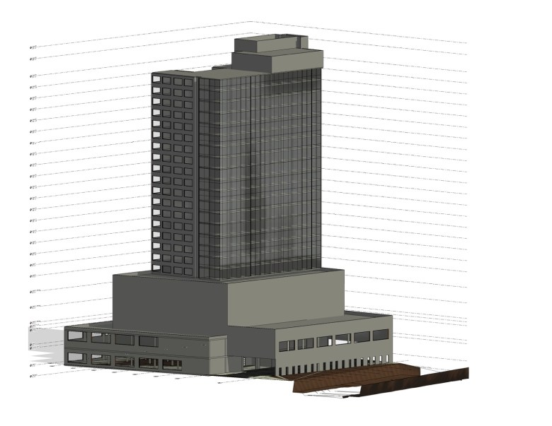 The HDRC granted conceptual approval for a 29-story mixed-use development at the old WOAI building Wednesday.
